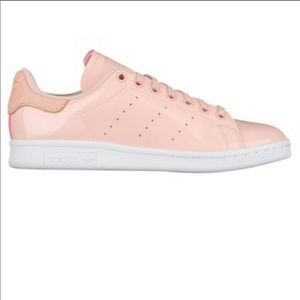 Adidas Stan Smith Glossy Pink Patent Leather
